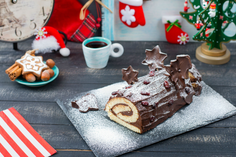 Christmas Log   Duc de Lorraine
